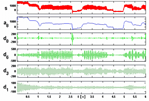 Wavelet Zerlegung Gelenkwellenmoment