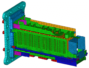 FE-Modell eines Leistungselektronikmoduls