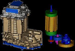 Koerperschall Elektromotor 1A